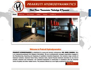 hydrodynamatics.com screenshot