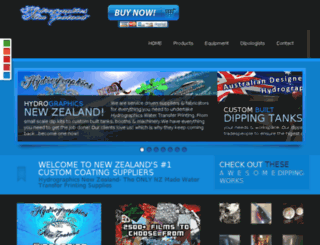hydrographicsnewzealand.co.nz screenshot
