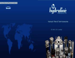 hydroline.com screenshot