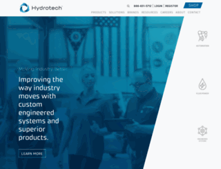 hydrotech.com screenshot