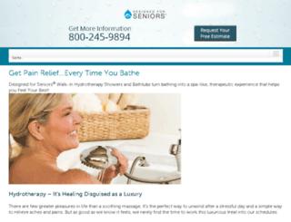 hydrotherapybathing.com screenshot