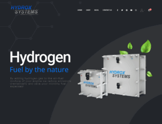 hydroxsystems.com screenshot
