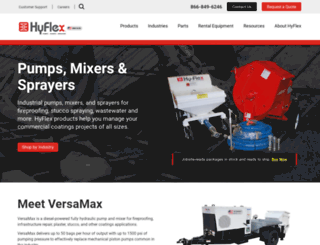 hyflexcorp.com screenshot