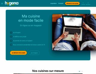 hygena.fr screenshot