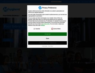 hygiena.com screenshot