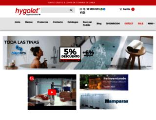 hygolet.com.mx screenshot