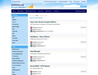 hyip-script-nulled.commercialscript.com screenshot
