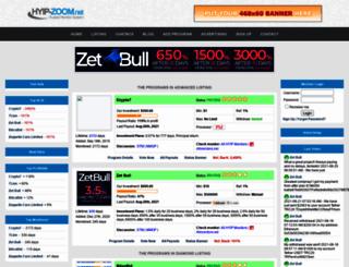 hyip-zoom.net screenshot