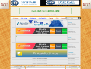 hyipfair.com screenshot