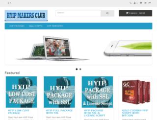 hyipmakersclub.com screenshot