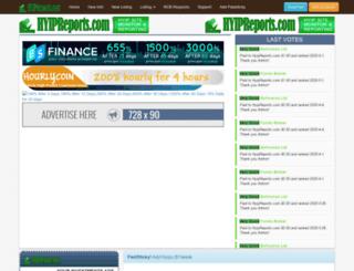 hyipreports.com screenshot