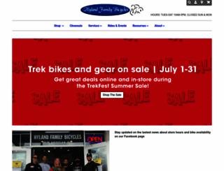 hylandbikes.com screenshot