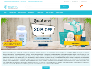 hylunia.com screenshot