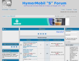 hymermobilsforum.iphpbb3.com screenshot
