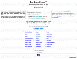 hymntime.com screenshot
