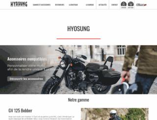 hyosung-france.com screenshot