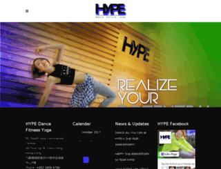 hypedance.hk screenshot