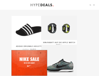 hypedeals.de screenshot