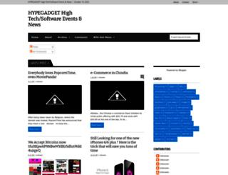 hypegadget.blogspot.com screenshot