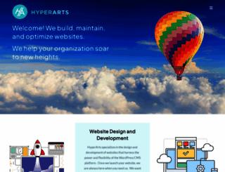 hyperarts.com screenshot