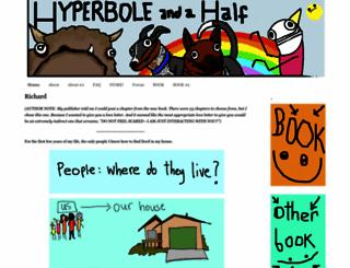 hyperboleandahalf.blogspot.mx screenshot