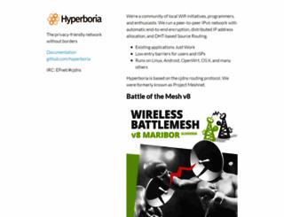 hyperboria.net screenshot