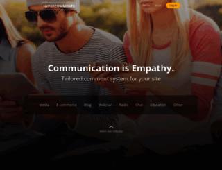 hypercomments.com screenshot