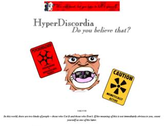 hyperdiscordia.crywalt.com screenshot