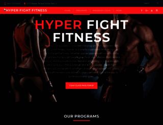 hyperfightfitness.com screenshot
