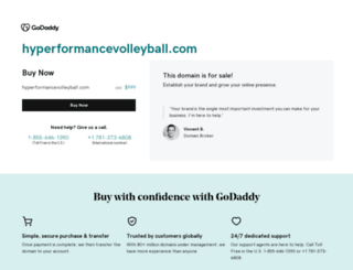 hyperformancevolleyball.com screenshot