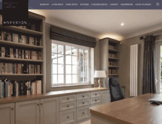 hyperion-furniture.co.uk screenshot