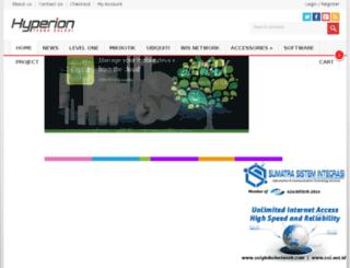 hyperion-tekno.com screenshot
