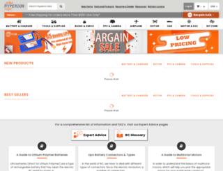 hyperion-world.com screenshot