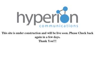 hyperioncom.net screenshot