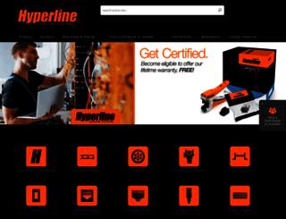 hyperline.com screenshot