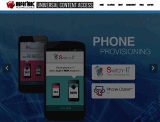 hyperlync.com screenshot