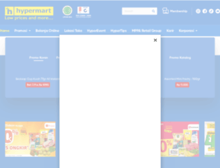 hypermart.co.id screenshot
