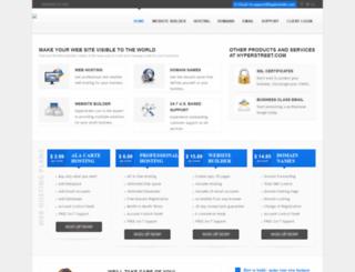 hyperstreet.com screenshot