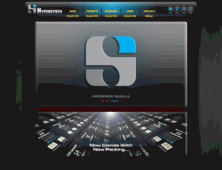 hypersynth.com screenshot