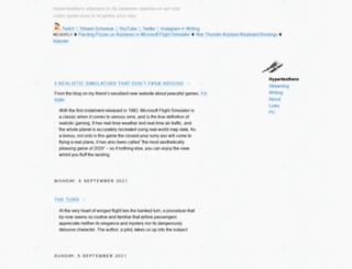 hypertexthero.com screenshot