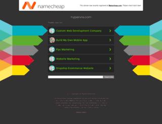 hypervre.com screenshot