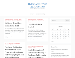 hypnoathletics.org screenshot