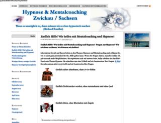 hypnose-zwickau.de screenshot