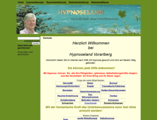 hypnoseland.at screenshot