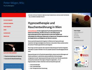hypnosetherapie.at screenshot