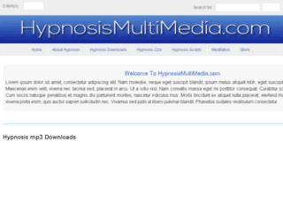 hypnosismultimedia.com screenshot