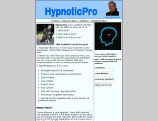 hypnoticpro.com screenshot