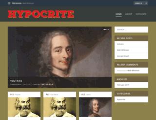 hypocrite.com screenshot