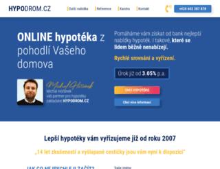 hypodrom.cz screenshot