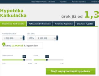 hypoteka-kalkulacka.biz screenshot